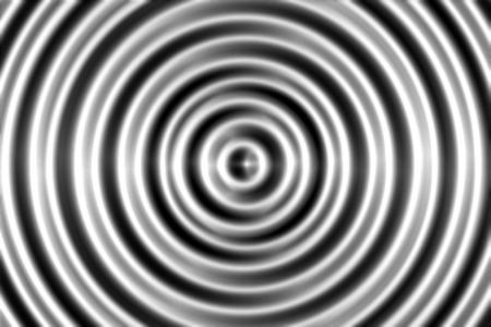 Blurred of gray swirl on black background