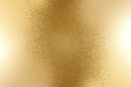 Light shining on rough bronze metal wall texture, abstract background Фото со стока - 117294144