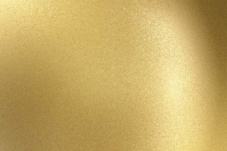 Glowing light gold stainless steel texture, abstract pattern background Standard-Bild - 117294368