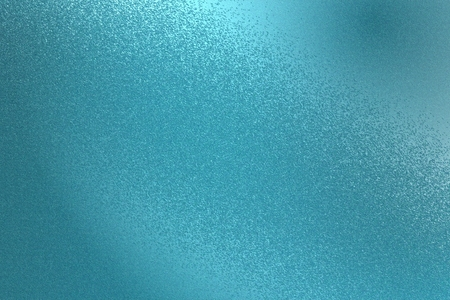 Glowing teal metal wall texture, abstract pattern background