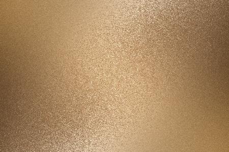Textura de pared de metal bronce rugoso, fondo abstracto