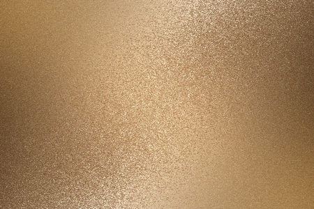 Texture of rough bronze metal wall, abstract background 免版税图像