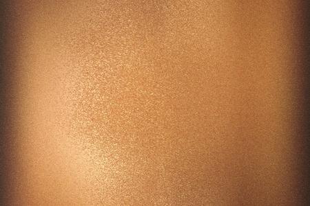 Tekstura brązowej szczotkowanej metalowej płyty, abstrakcyjne tło
