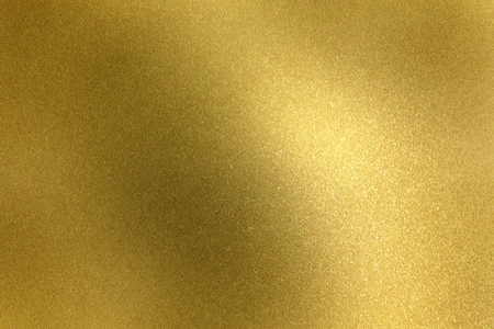 Gold steel wave texture, abstract background