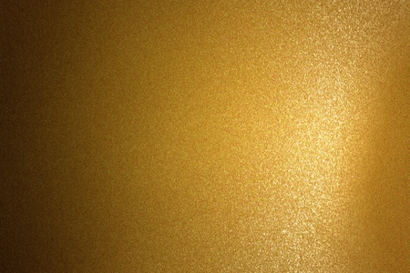 Abstract background, refraction on brown metallic wall in dark room