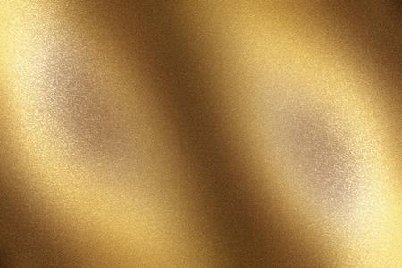 Surface de feuille de métal bronze brossé, fond de texture abstraite Banque d'images