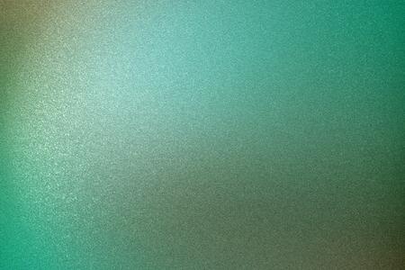 Vecchia superficie metallica verde spazzolata della parete, fondo astratto di struttura