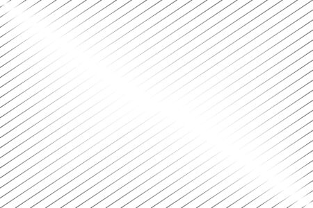 Abstract black oblique lines on white background vector illustration