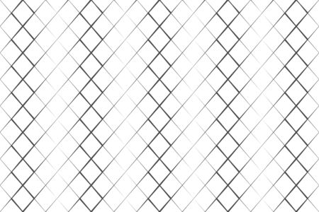 Abstract pattern black grating line on white backdrop vector illustration