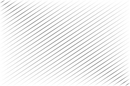 Abstract black blend lines with diagonal stripe on white background vector illustration