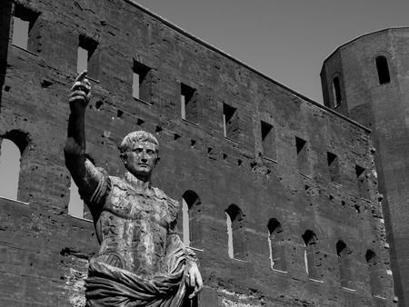 augustus: Caesar Augustus in Turin Stock Photo