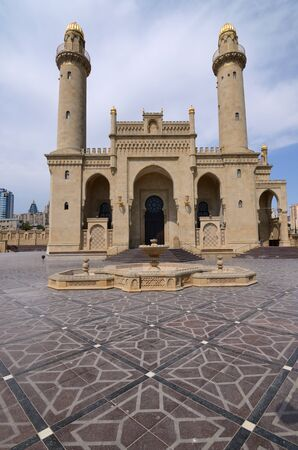 "Mosque ""Teze Pir"" in the center of Baku.Azerbaijan"