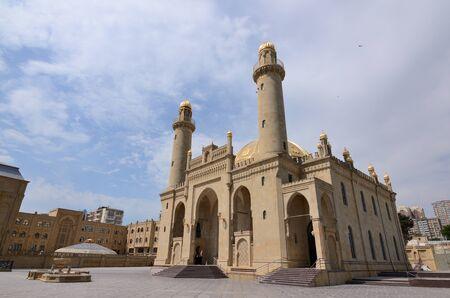 "Mosque ""Teze Pir"" in the center of Baku.Azerbaijan Stock Photo"