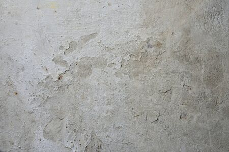 Cement on rusty metal for background