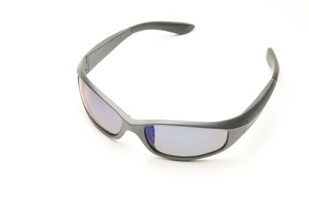 Youth sunglasses on an isolated white background