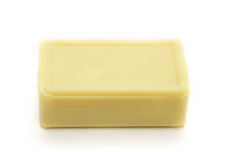 Soap for household use on an isolated white background Stock Photo