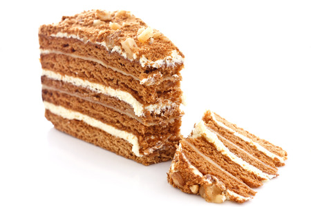 Honey cake or medovnik if you are in the know photo