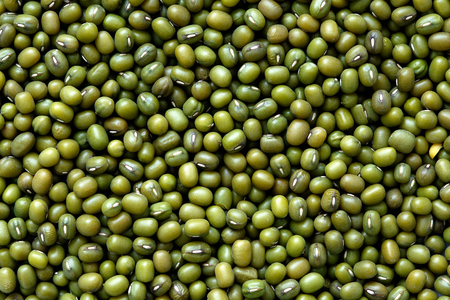 Background of dry mung beans.