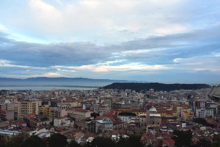 landscape of cagliari Stock Photo