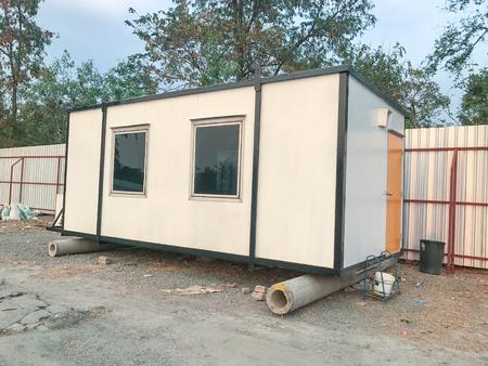 태국 산업 현장에서 야외 모바일 건물
