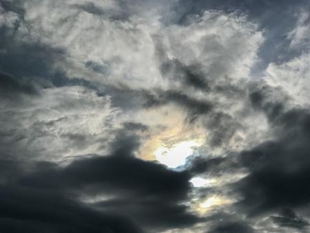 abstract Dark cloud and sky at thailand
