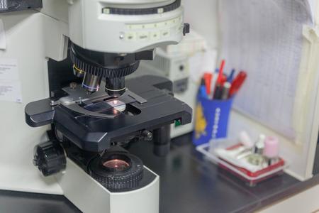 gros plan de la hotte de l'équipement de laboratoire