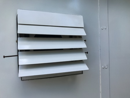 close up of Ventilations on the wall