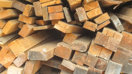 close up of wooden log background texture