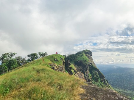 beautiful landscape of mon jong mountain at Chaing mai, Thailand