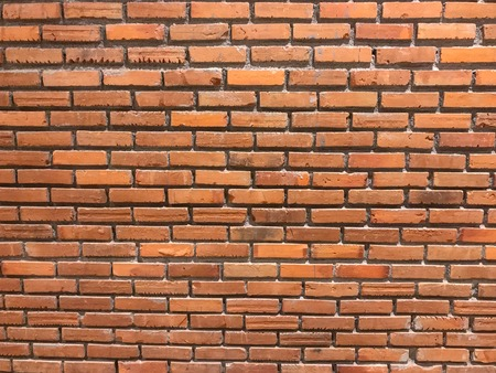 old grunge red wall brick background texture