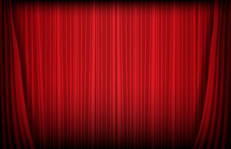 abstract background of red curtain, gambling casino concept Vektorgrafik