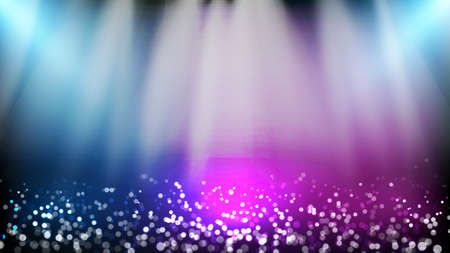 abstract background of Glittering dust particle and lighting spotlgiht stage background 向量圖像