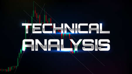 abstract background of technical analysis trading stock market indicator technical analysis graph