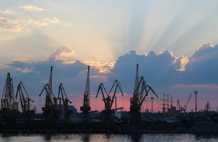 odessa: odessa port ukraine Stock Photo