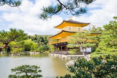 Temple of the Golden Pavilion,Kyoto,Japan photo