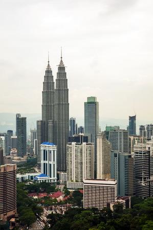 Kuala Lumpur cityscape, capital city of Malaysia