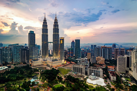 KUALA LUMPUR, MALAYSIA : MARCH 9, 2013 - Kuala Lumpur is the national capital and most populous city in Malaysia.It is among the fastest growing metropolitan regions in South-East Asia, in terms of population and economy. Editorial