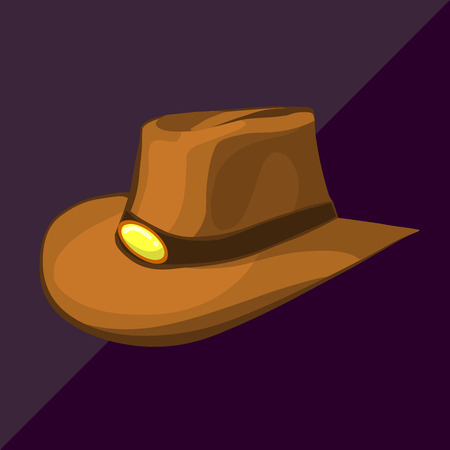 cartoon gangster: cowboy hat isometric cartoon western rancher country