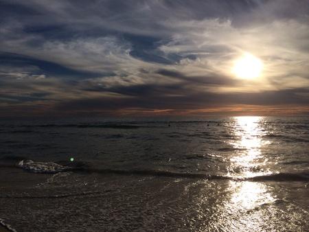 hermosa beach: Sunset from Hermosa beach California