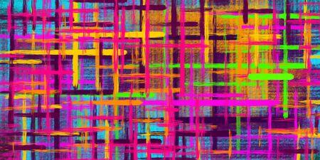 Fondo abstracto colorido. Manchas de pinturas multicolores.