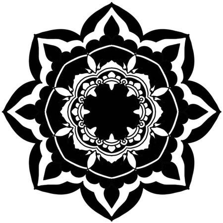 Mandala Vector Art Pattern Design Vector Illustratie