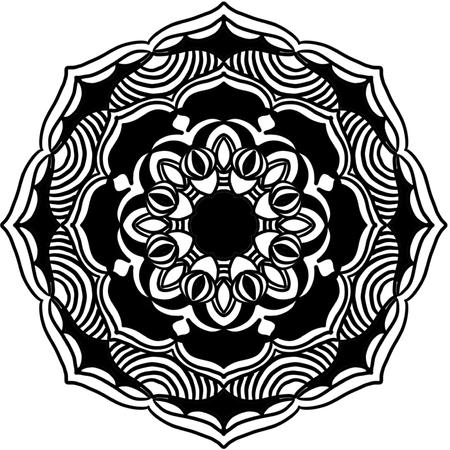 Mandala Vector Art Pattern