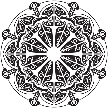 Mandala Vector Art Pattern