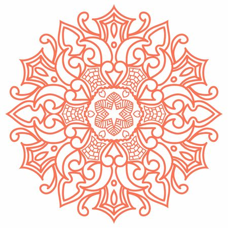 Hindi Mandala Vector Art Pattern Design