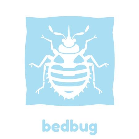 ホーム南京虫ベクトル イラスト - 家庭の害虫の純粋なスタイルで設定