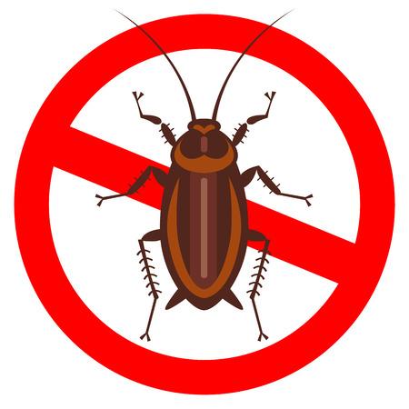 純粋なスタイル ・ エンブレム - 純粋なスタイルで家庭の害虫のセット - アイコン、包装、デザインの良いにゴキブリ