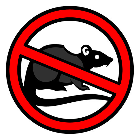 rat pest vector drawing home parasite - set of household pests in pure style Ilustrace