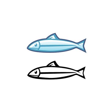 Niedlich Bild Eines Zu Färbenden Fisches Zeitgenössisch - Beispiel ...
