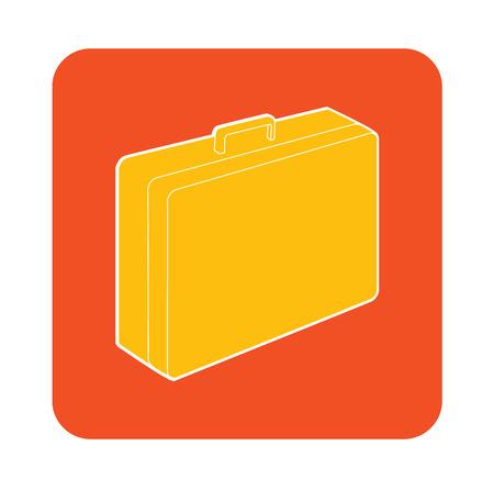 business case: attache business case vector icon