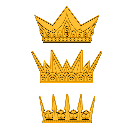 the aristocracy: Vector silhouette royal crown icon from crown collection
